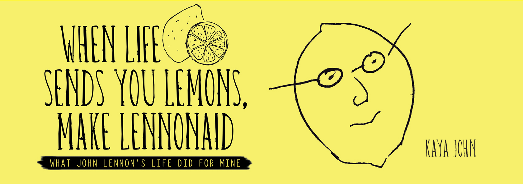 When Life Sends You Lemons, Make LENNONAID
